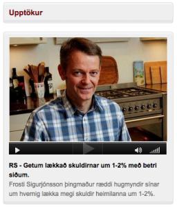 Viðtal á Bylgjunni 22. ágúst